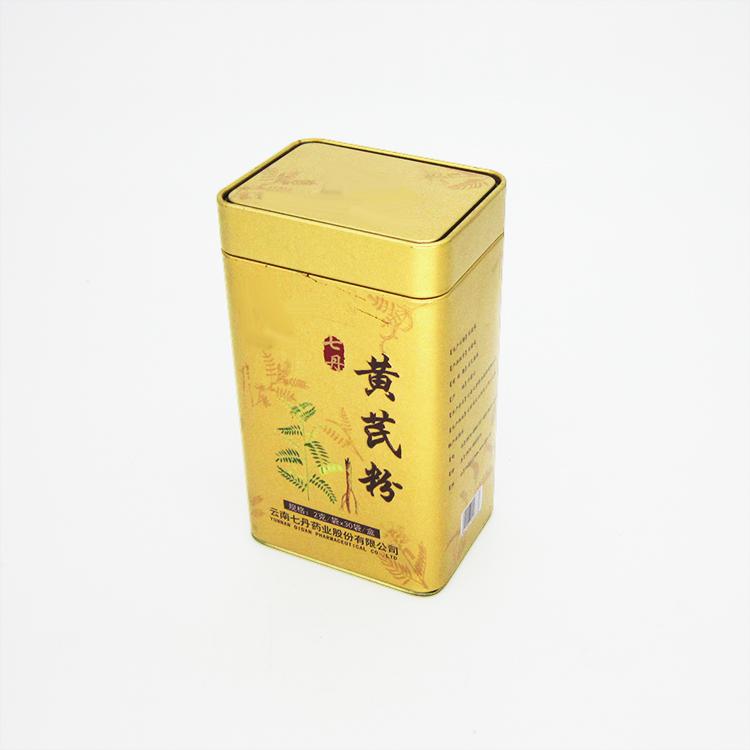 黄芪粉铁罐