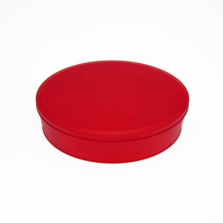椭圆形糖果铁盒