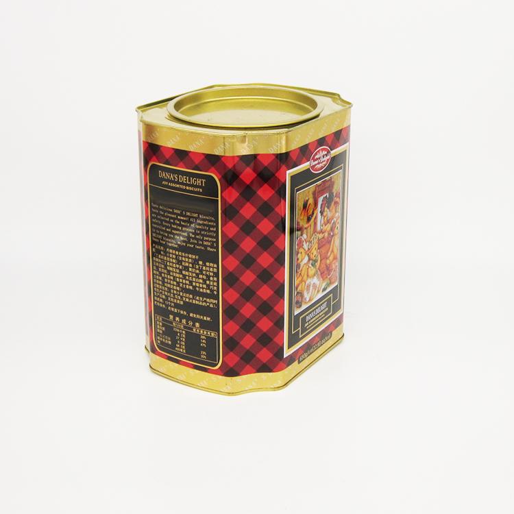 什锦饼干铁罐