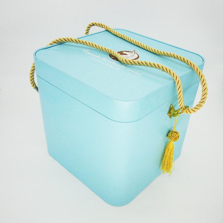 正方礼品铁盒