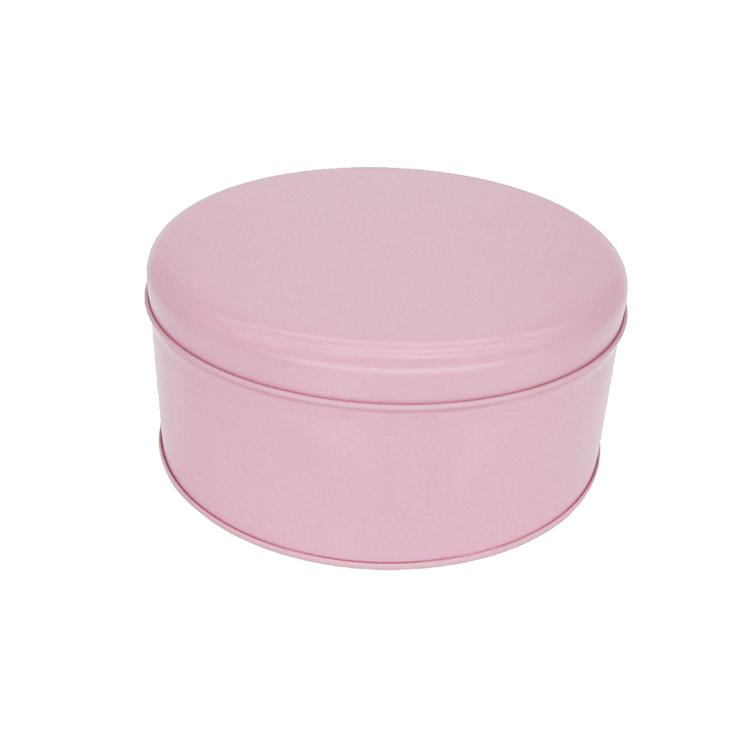 圆形糖果铁罐
