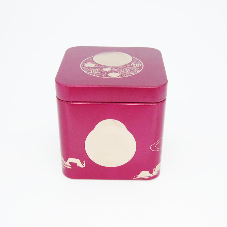 润肤霜铁盒
