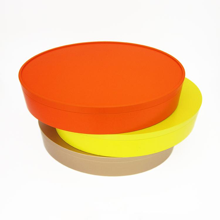椭圆形礼品包装铁盒