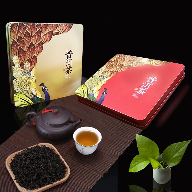 普洱茶饼铁盒